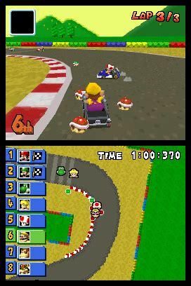 All Mario Kart Screenshots For Nintendo