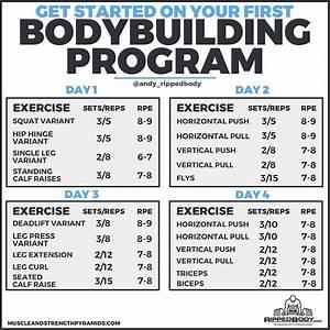Health Bodybuilding Program