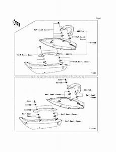 Kawasaki Ex650-a7f Parts List And Diagram