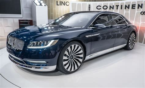2017 Lincoln Continental Concept by Lincoln Continental Concept It S Already Headed For