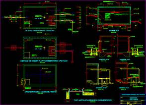 Cistern 15 M3 Dwg Detail For Autocad  U2013 Designs Cad