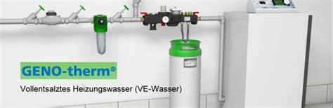wasser entmineralisieren gerät heizungswasseraufbereitung schr 195 182 der heizung sanit 195 164 r