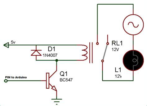 Arduino Relay Control Tutorial With Code Circuit Diagram
