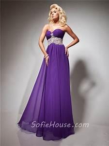 Light Flowy Wedding Dress A Line Princess Sweetheart Long Purple Lilac Flowy Chiffon