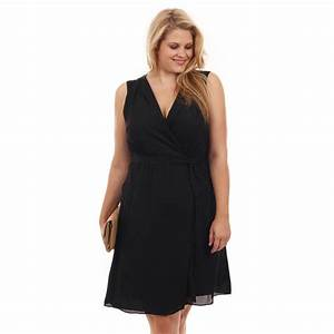 ma robe noire grande taille notre selection chic elegante With robe noire grande taille