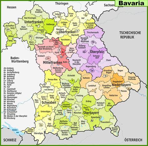 Stadtplan von Bayern | Detaillierte gedruckte Karten von ...