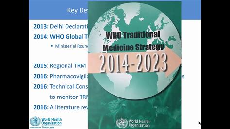 Traditional Medicine Strategy Issues And Challenges In