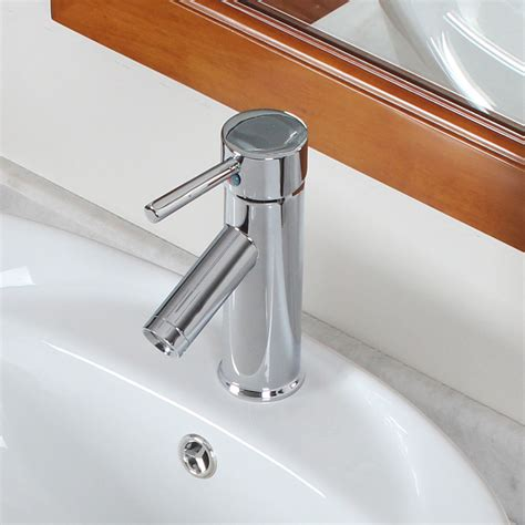 Fluid Faucets Single Lever by Modern Single Lever Chrome Bathroom Faucet Ebay