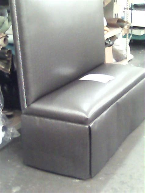 Custom Made Banquette Seating - custom made country leather banquette by upholstery