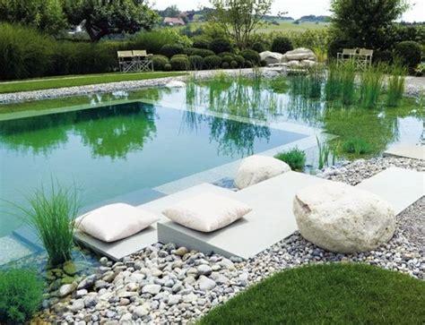 pool deko schwimmteich bauen steine deko idee garten gestaltung schwimmteich garten and deko