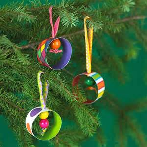 Paper Christmas Ornaments Craft Ideas