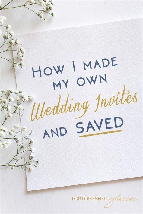best 25 handmade wedding invitations ideas on