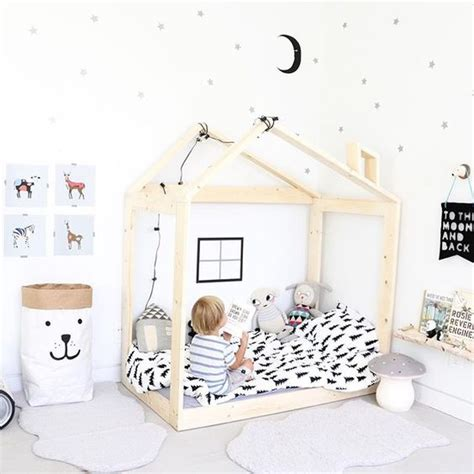 chambre fille bébé diy lit cabane oliyshoo