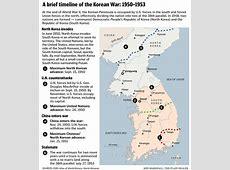 Korean War Timeline 1950 1953 3