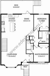 Plan 2013718 1343 sq ft bi level plan with spilt entry for Open floor plan bi level