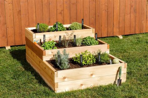 raised garden bed kit raised garden beds diy kits yardcraft