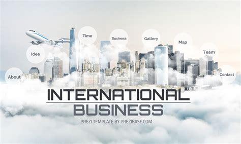 international business prezi   template