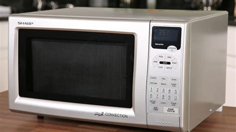 sharp  js convection grill microwave oven review