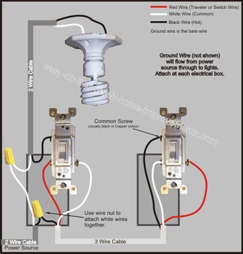 Way Switch Wiring Diagram