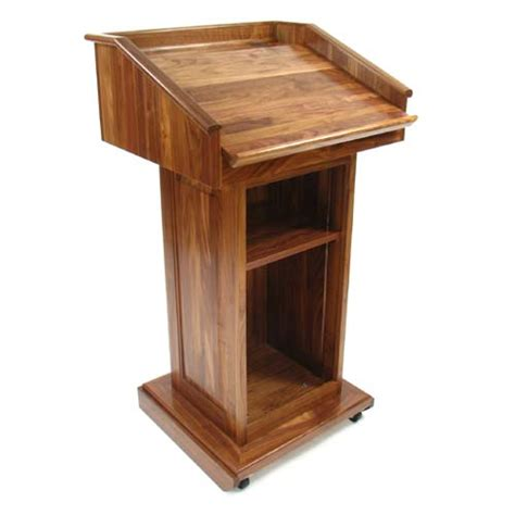 wood podium plans  woodworking