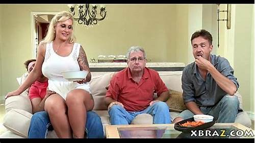 Stepson Was Again There #Stepmom #Milf #Seduces #Her #Stepson #With #His #Dad #Right #There