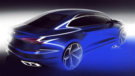 Volkswagen Us Passat 2020 by 2020 Volkswagen Passat For U S Market Teased Doesn T