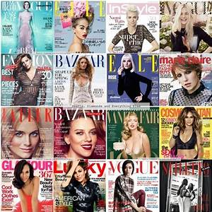 Fashion Magazine Covers Collage 55214 | NOTEFOLIO