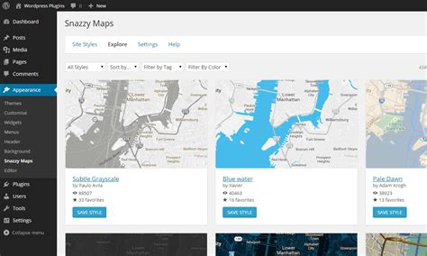 Plugin Snazzy Maps Free Styles For Google