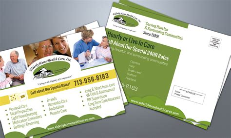 Home Health Care Flyer Templates - Home health care brochure templates