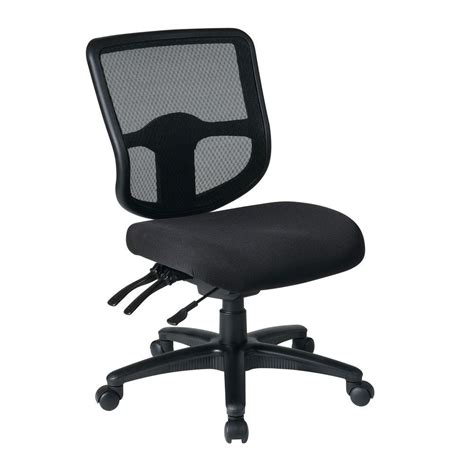 pro line ii black office chair 98341 30 the home depot