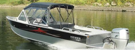 Used Aluminum Fishing Boats In Oregon by Clemens Marina Portland And Eugene Oregon Hewescraft