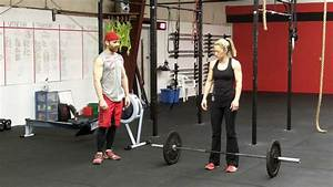CrossFit Barbell Thruster - Northstate CrossFit - YouTube