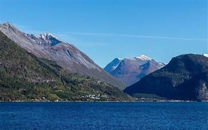 Fjords Kenai Wallpapers National Park Norwegian 4k
