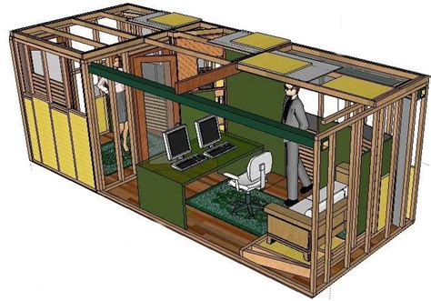 Shipping Container Bunker Floor Plans by Shipping Container Underground Shelter