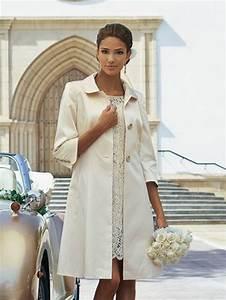 Standesamt Kleidung Damen : etuikleid mit mantel ~ Orissabook.com Haus und Dekorationen