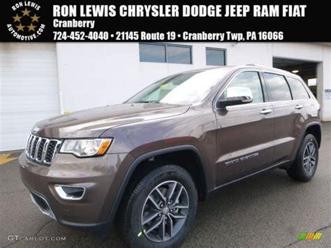 brown jeep grand cherokee 2017 2017 walnut brown metallic jeep grand cherokee limited 4x4