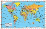 Clickable World Map - Map Drills | Homeschool - Geography ...