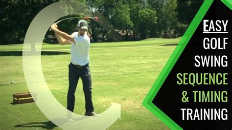 Easy Golf Swing by Easy Golf Swing Sequence Be Patient Tempo And Timing