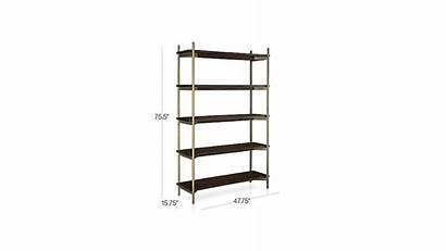 Shelves Crate Barrel Bookcases Bookcase