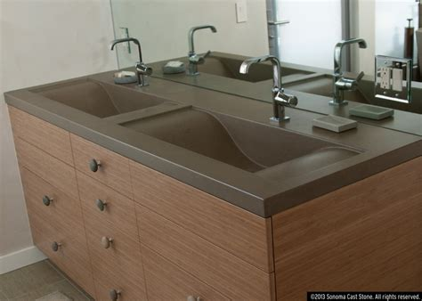 concrete sink kitchen sonoma cast s concrete wave sink was voted best new 2434