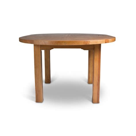 cj tables and oak large round extending dining table