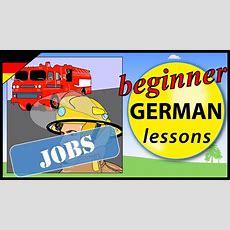 Jobs In German  Beginner German Lessons For Children Youtube