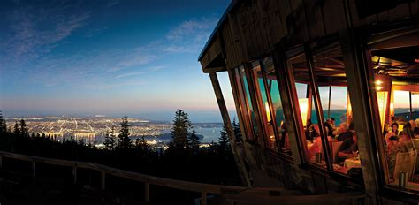 stores cuisine the observatory restaurant grouse mountain the peak of