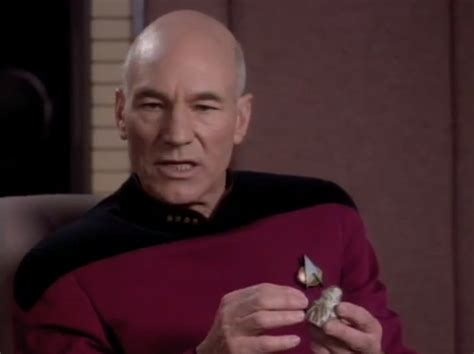 Star Treks Captain Jean Luc Picard Sings Let It Snow
