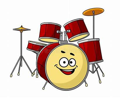 Drum Laughing Smile Happy Band Having Musical
