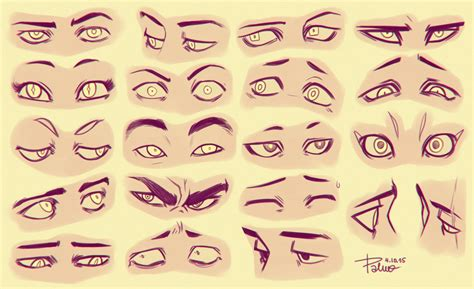 Anime Eyes Looking Left Drawing Illustration Eyes Diy Tutorials Art Reference