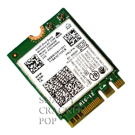 wifi card for lenovo y40 y50 70 80 touch intel dual band wireless ac