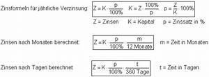 Durchschnittszinssatz Berechnen : zinsrechnung mathe brinkmann ~ Themetempest.com Abrechnung