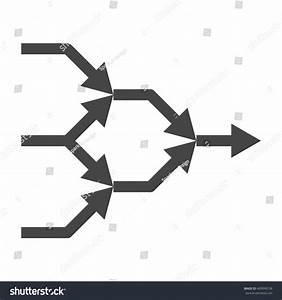 Simplify Icon Arrows Explanation Complex Simple Stock ...