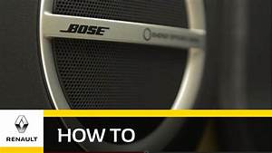 The Powerful Bose Sound System With The Renault Sc U00e9nic
